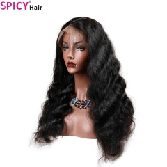 Spicyhair 180% densité 13 * 6 perruque humaine vierge Body Wave avant perruques